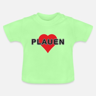 Neustadt PLAUEN - big heart - Baby T-Shirt