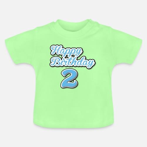 Happy Birthday Boy Baby T Shirt
