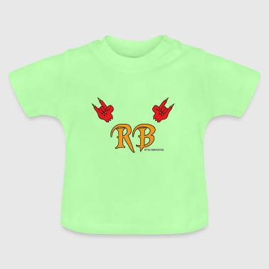 Biber Logo Devil Horns Meets RB - Baby T-Shirt
