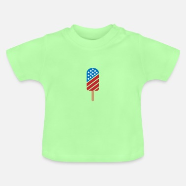 Stars And Stripes USA ICE - stars and stripes - Baby T-Shirt