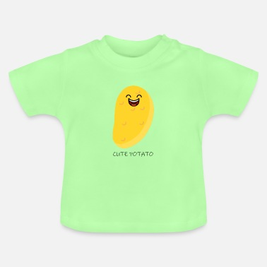 Tekstballon cute potato - Baby T-Shirt