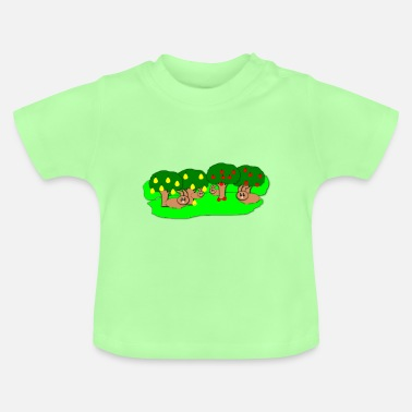 Orchard Hare in the orchard - Baby T-Shirt