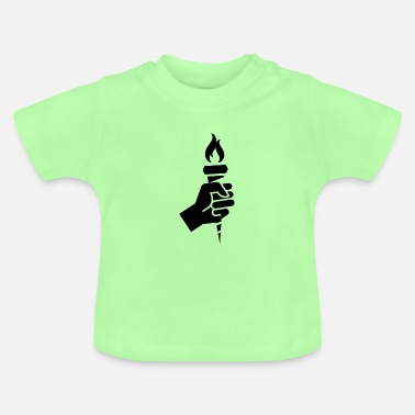 Black candle gift idea sport - Baby T-Shirt