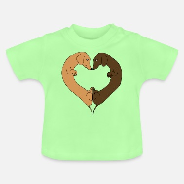 Dackel Heart - Baby T-Shirt