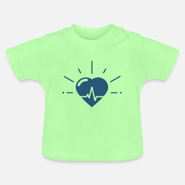 Heartbeat Heartbeat for heartbeat - Baby T-Shirt