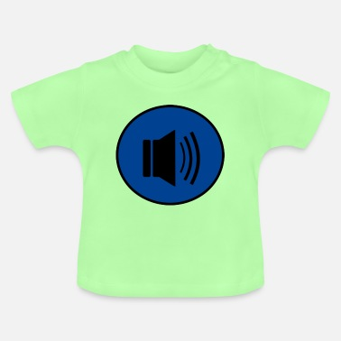 Audio Audio knäppas design - Baby-T-shirt