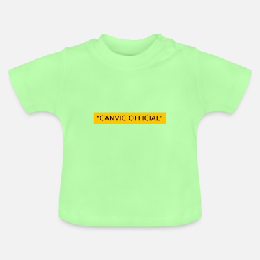 Recordhouder officiële canvic - Baby T-shirt