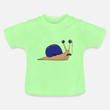 Wealthy The wealthy snail - gift idea - Baby T-Shirt