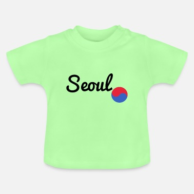 Girlfriend Seoul black - Baby T-Shirt