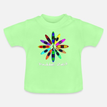Clock Kayak 0004 - Baby T-Shirt