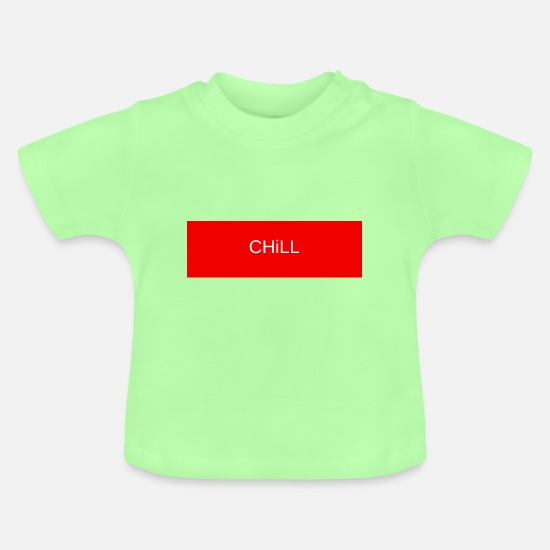Recreational Baby Clothes - chill - Baby T-Shirt mint green
