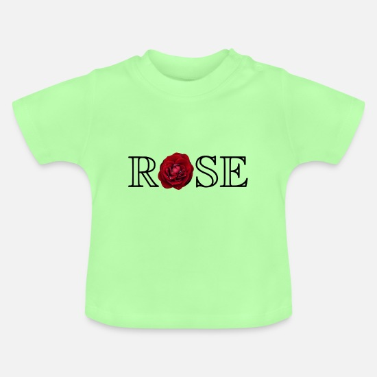 Blume Baby Clothes - rose - Baby T-Shirt mint green