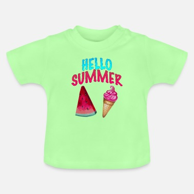 Softice Hello Summer - Baby T-Shirt