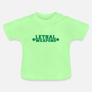 Huge Boobs lethal weapons with star  - Baby T-Shirt