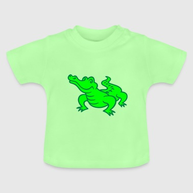 crocodile (a) - T-shirt Bébé