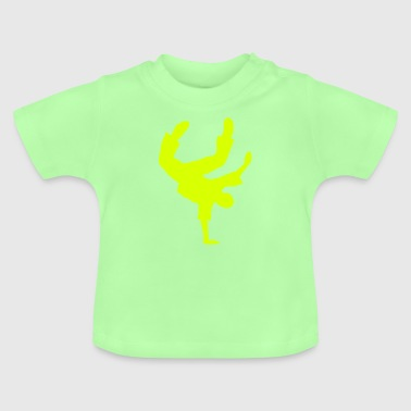 Breakdance Breakdancer BBoy Breaker breakdancing - Baby T-shirt