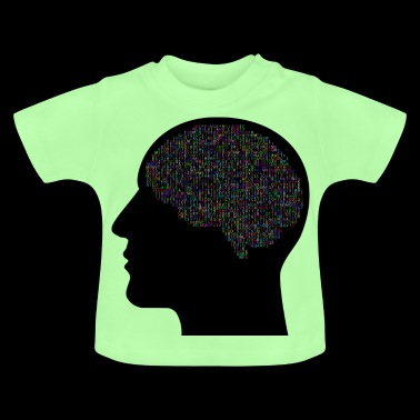 cranium thoughts - Baby T-Shirt