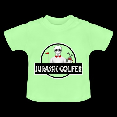 Shirtzz Jurassic golfer design for golf players - Baby T-Shirt