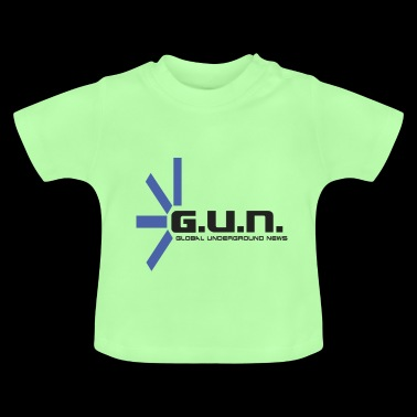 Global underground News G.U.N. Logo - Baby T-Shirt