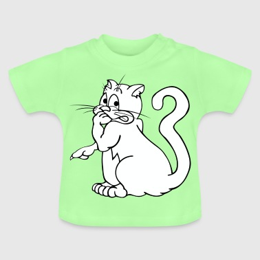 Cat apps wit - Baby T-shirt