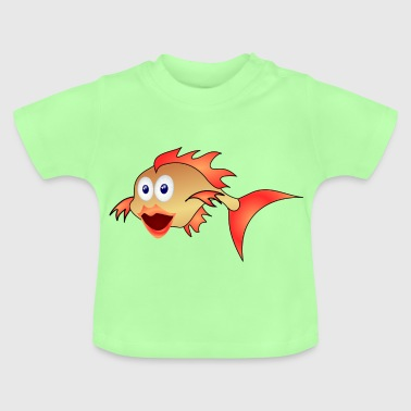 Goldfish aquarium fish aquarium pond - Baby T-Shirt