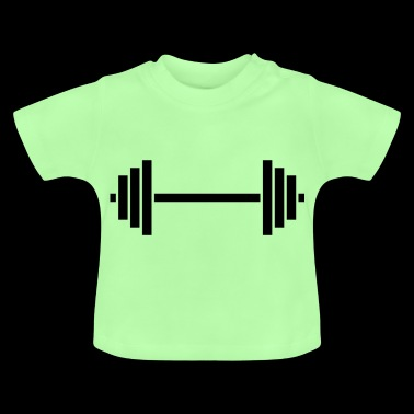 weight lifting - Baby T-Shirt