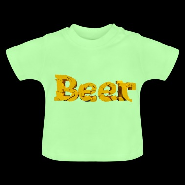 Beer font - Baby T-Shirt