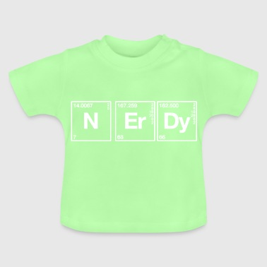 Nerdy Periodensystem - Baby T-Shirt