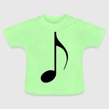 Note Music 2 - T-shirt Bébé