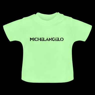 Michelangelo (black) - Baby T-Shirt