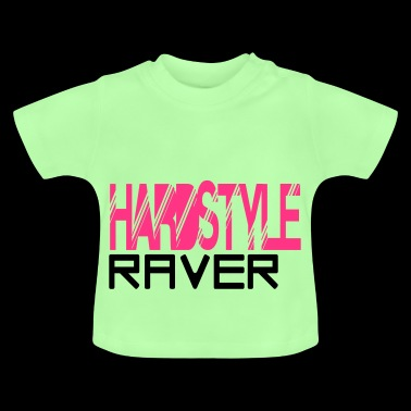 hardstyle raver - Baby T-shirt