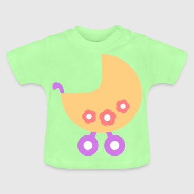 Baby carriage baby clip art - Baby T-Shirt