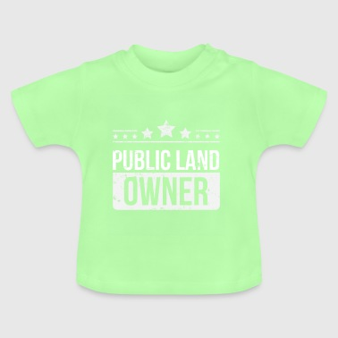 Public Land Owner Conservation - Baby T-Shirt
