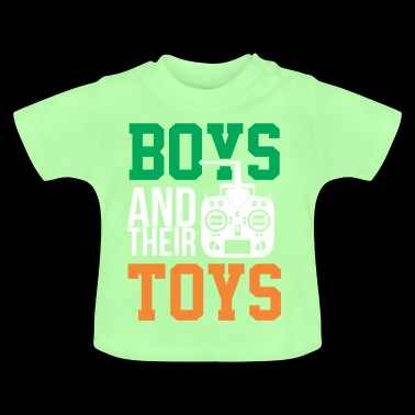 Guys and their toys - Baby T-Shirt