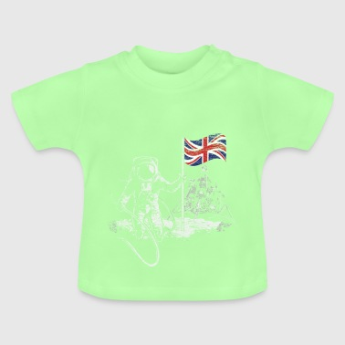 Moon Apollo Great Britain - Baby T-Shirt