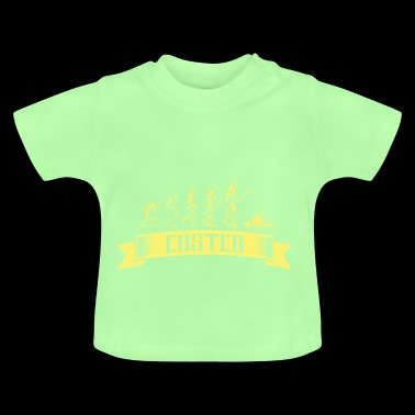 Easter Bunny Evolution YELLOW YELLOW - Baby T-Shirt