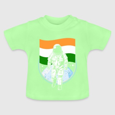 Indien Flagge - Baby T-Shirt