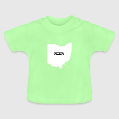 Ohio Mixtape Charcoal State Pride Gift - Baby T-Shirt