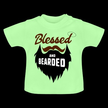 Blessed and bearded - Baby T-Shirt