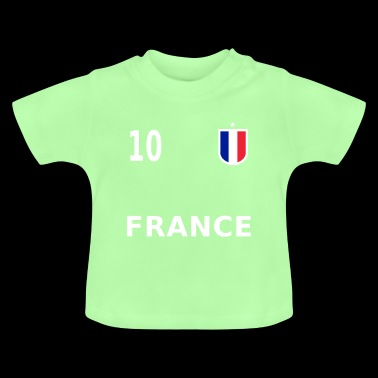 France football jersey number 10 - Baby T-Shirt