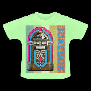 Jukebox Musicbox Vintage Retro Style Grunge - Baby T-Shirt