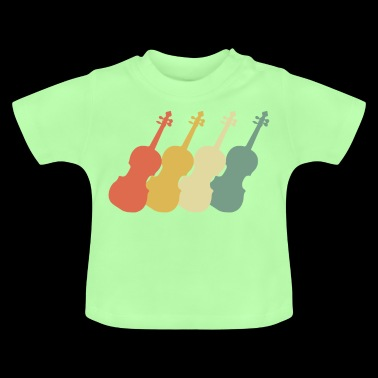 Violin 70s Style - Baby T-Shirt