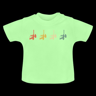 Paintball 70s Style - Baby T-Shirt