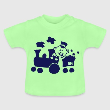 Train - T-shirt Bébé