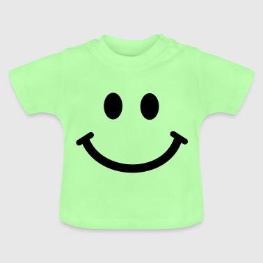 Happy Smiley Face - Baby T-Shirt
