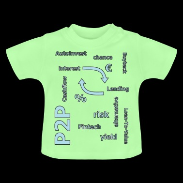 P2P - person to person credit - Baby T-Shirt