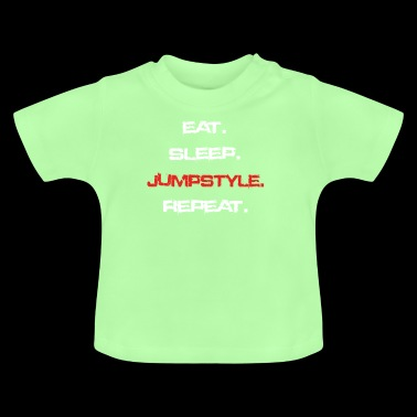 eat sleep repeat JUMPSTYLE - Baby T-Shirt