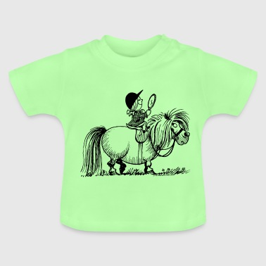 Thelwell - Penelope with a mirror - Baby T-Shirt