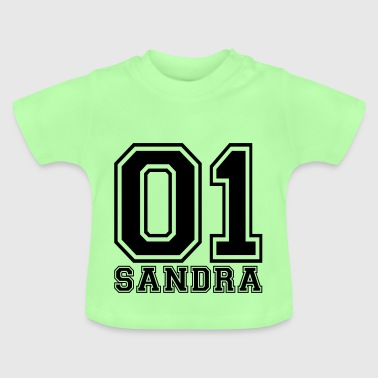 Sandra - Name - Baby T-Shirt