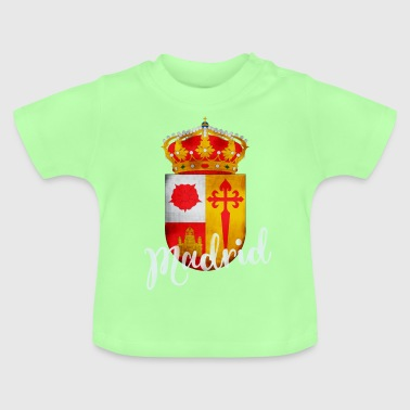 Spanje Madrid crest Vacations Tourist herinnering lo - Baby T-shirt